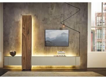 Hülsta Wohnzimmer-Set »GENTIS«, weiß, 5 Jahre Hersteller-Garantie