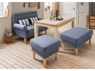 Home Affaire  Küchensofa  mit Federkern »Scalea«, blau, B/T: 147x56cm, hoher Sitzkomfort