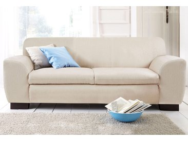 Home Affaire Couch »Nika«, beige, T: 59cm, hoher Sitzkomfort