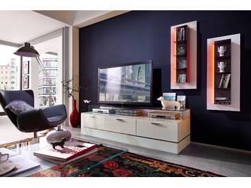 Leonardo TV-Bank »CUBE«, weiß, pflegeleichte Oberfläche