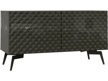 Bruno Banani Lowboard »Design 1«, grau, pflegeleichte Oberfläche, FSC®-zertifiziert
