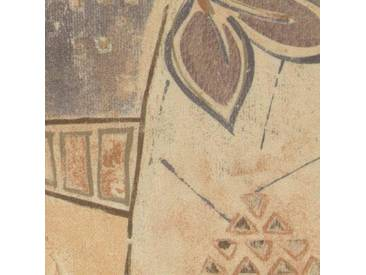 Domo Collection Polstergarnitur mit Bettfunktion, beige, Langer Schenkel links, B/H/T: 256x42x57cm, hoher Sitzkomfort