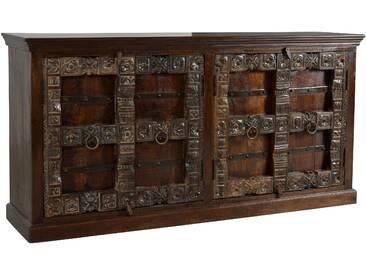 Sit-möbel Sideboard »Almirah«, braun, in Handarbeit gefertigt
