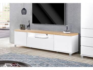 Hmw Lowboard »Thila«, weiß, pflegeleichte Oberfläche