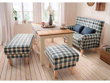 Home Affaire Küchensofa »Scalea«, blau, Inkl. Zierkissen, komfortabler Federkern