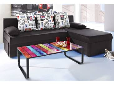 Inosign  Eck-Couch, B/H/T: 191x41x47cm, hoher Sitzkomfort