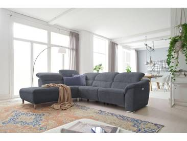 Places Of Style Eck-Couch »Verona«, grau, Ottomane links, hoher Sitzkomfort