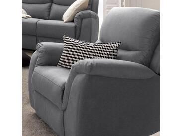 Atlantic Home Collection Relax-Sessel, grau, komfortabler Federkern, hoher Sitzkomfort