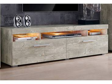 Cnouch Lowboard, grau, pflegeleichte Oberfläche
