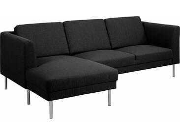 Andas Eck-Sofa »Christian«, grau, Inkl. Rückenkissen, hoher Sitzkomfort, FSC®-zertifiziert