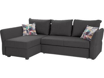 Atlantic Home Collection  Eck-Sofa, komfortabler Federkern, hoher Sitzkomfort