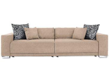 Collection Ab Bigsofa, beige, komfortabler Federkern, FSC®-zertifiziert