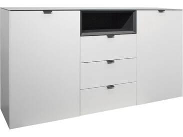 Mäusbacher Sideboard »Micelli«, weiß, pflegeleichte Oberfläche, mit Schubkästen