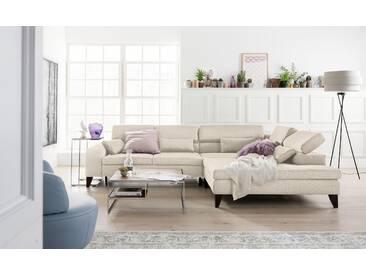 Gallery M Eck-Sofa »Felicia«, beige, 5 Jahre Hersteller-Garantie