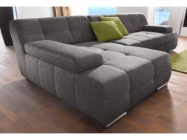 Sit&more Ecksofa ohne Schlaffunktion, braun, hoher Sitzkomfort