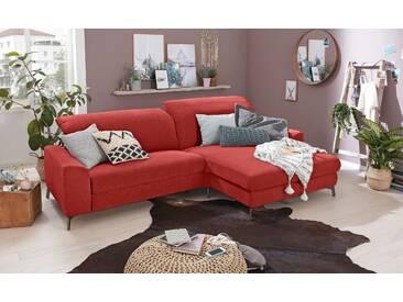 Set One By Musterring Schlaf-Couch »SO 5400«, rot, 5 Jahre Hersteller-Garantie