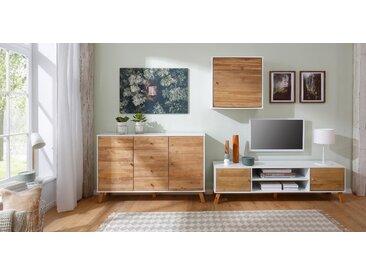 Home Affaire Hängeschrank »Rondo«, weiß, pflegeleichte Oberfläche, FSC®-zertifiziert