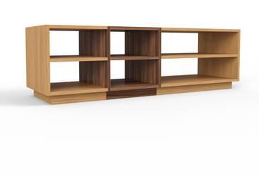 TV-Schrank Eiche, Holz - Moderner Fernsehschrank: Hochwertige Qualität, einzigartiges Design - 154 x 47 x 47 cm, konfigurierbar