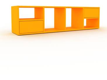 Rollcontainer Gelb - Moderner Rollcontainer: Schubladen in Gelb - 156 x 41 x 35 cm, konfigurierbar