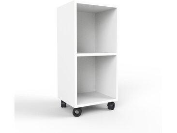 Rollcontainer Weiß - Moderner Rollcontainer: Hochwertige Qualität, einzigartiges Design - 41 x 87 x 35 cm, konfigurierbar