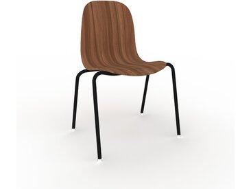 Holzstuhl in Nussbaum 49 x 83 x 57 cm einzigartiges Design, konfigurierbar