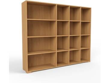 Bücherregal Eiche, Holz - Modernes Regal für Bücher: Hochwertige Qualität, einzigartiges Design - 193 x 158 x 35 cm, konfigurierbar