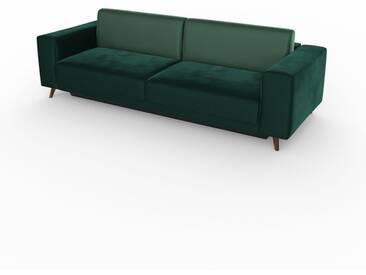 Schlafsofa Eisblau - Elegantes, gemütliches Bettsofa: Hochwertige Qualität, einzigartiges Design - 248 x 75 x 98 cm, konfigurierbar