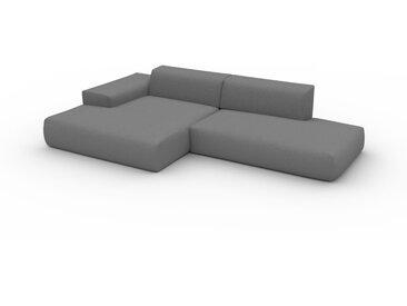 Ecksofa Taupegrau - Flexible Designer-Polsterecke, L-Form: Beste Qualität, einzigartiges Design - 310 x 72 x 168 cm, konfigurierbar