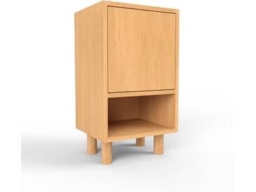 Nachtschrank Buche - Eleganter Nachtschrank: Türen in Buche - Hochwertige Materialien - 41 x 72 x 35 cm, konfigurierbar