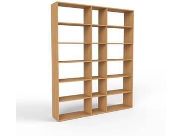 Bücherregal Eiche, Holz - Modernes Regal für Bücher: Hochwertige Qualität, einzigartiges Design - 190 x 233 x 35 cm, konfigurierbar