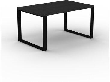 Schreibtisch Massivholz Wenge, Holz - Moderner Massivholz-Schreibtisch: Einzigartiges Design - 140 x 75 x 90 cm, konfigurierbar