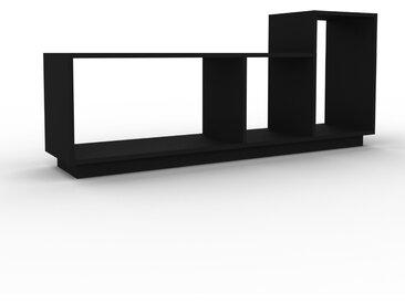 Schallplattenregal Schwarz - Modernes Regal für Schallplatten: Hochwertige Qualität, einzigartiges Design - 154 x 66 x 35 cm, Selbst designen