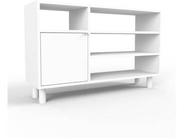 Sideboard Weiß - Designer-Sideboard: Türen in Weiß - Hochwertige Materialien - 116 x 72 x 35 cm, Individuell konfigurierbar