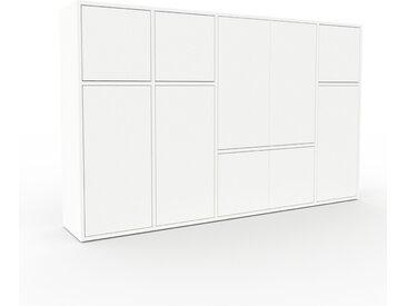 Highboard Weiß - Elegantes Highboard: Türen in Weiß - Hochwertige Materialien - 193 x 118 x 35 cm, Selbst designen