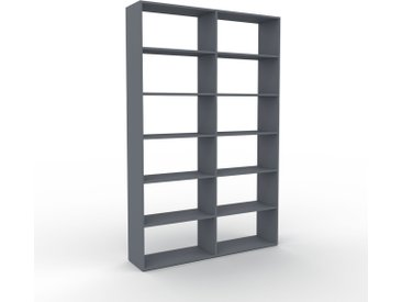 Schallplattenregal Anthrazit - Modernes Regal für Schallplatten: Hochwertige Qualität, einzigartiges Design - 152 x 233 x 35 cm, Selbst designen
