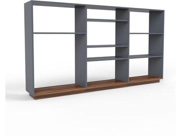 Schallplattenregal Anthrazit - Modernes Regal für Schallplatten: Hochwertige Qualität, einzigartiges Design - 226 x 124 x 35 cm, Selbst designen