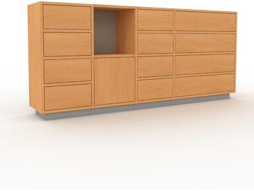 Highboard Buche - Highboard: Schubladen in Buche & Türen in Buche - Hochwertige Materialien - 193 x 85 x 35 cm, Selbst designen