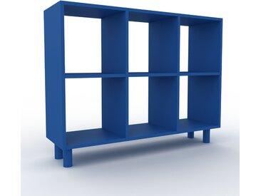 Schallplattenregal Marineblau - Modernes Regal für Schallplatten: Hochwertige Qualität, einzigartiges Design - 118 x 91 x 35 cm, Selbst designen
