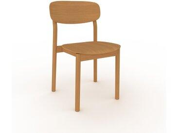 Holzstuhl in Eiche 52 x 82 x 49 cm einzigartiges Design, konfigurierbar