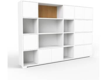 Aktenschrank Weiß - Flexibler Büroschrank: Türen in Weiß - Hochwertige Materialien - 229 x 158 x 35 cm, Modular