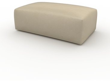 Polsterhocker Taupebeige - Eleganter Polsterhocker: Hochwertige Qualität, einzigartiges Design - 100 x 42 x 64 cm, Individuell konfigurierbar