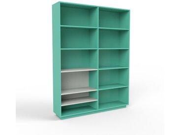 Aktenregal Seegrün - Flexibles Büroregal: Hochwertige Qualität, einzigartiges Design - 152 x 200 x 35 cm, konfigurierbar