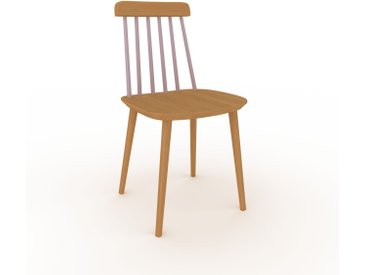 Holzstuhl in Eiche 43 x 82 x 44 cm einzigartiges Design, konfigurierbar