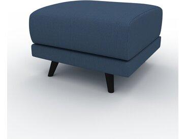 Polsterhocker Ozeanblau - Eleganter Polsterhocker: Hochwertige Qualität, einzigartiges Design - 60 x 42 x 60 cm, Individuell konfigurierbar