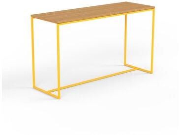 Konsolentisch Eiche, Holz - Eleganter Konsolentisch: Beste Qualität, einzigartiges Design - 121 x 71 x 42 cm, konfigurierbar