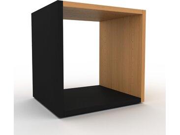 Schallplattenregal Schwarz - Modernes Regal für Schallplatten: Hochwertige Qualität, einzigartiges Design - 41 x 41 x 35 cm, Selbst designen