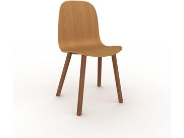 Holzstuhl in Eiche 49 x 83 x 43 cm einzigartiges Design, konfigurierbar