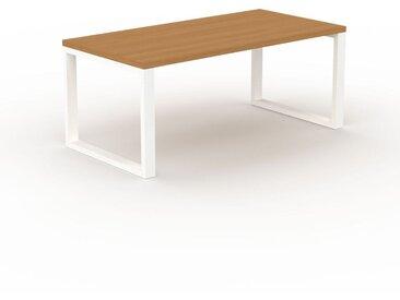 Designer Esstisch Massivholz Eiche, Holz - Individueller Designer-Massivholztisch: Einzigartiges Design - 180 x 75 x 90 cm, Modular