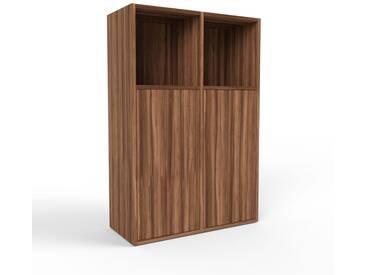 Highboard Nussbaum - Elegantes Highboard: Türen in Nussbaum - Hochwertige Materialien - 79 x 118 x 35 cm, Selbst designen