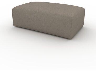Polsterhocker Taupegrau - Eleganter Polsterhocker: Hochwertige Qualität, einzigartiges Design - 100 x 42 x 64 cm, Individuell konfigurierbar